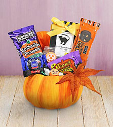 Halloween Pumpkin Treats from Clifford's where roses are our specialty