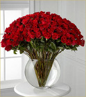 Luxury 100 Breathless Roses from Clifford's where roses are our specialty