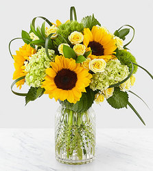 Sunflower Bouquet from Clifford's where roses are our specialty