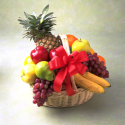 Gift of Fruit from Clifford's where roses are our specialty