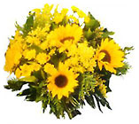 Bouquet of Sunshine from Clifford's where roses are our specialty