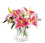 FTD Pink Lily Bouquet from Clifford's where roses are our specialty