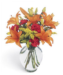 Tigress Bouquet from Clifford's where roses are our specialty