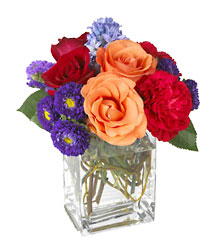 Summer Medley Bouquet from Clifford's where roses are our specialty