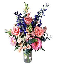 Bright and Beautiful Bouquet from Clifford's where roses are our specialty