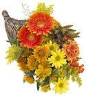 FTD Bountiful Color Cornucopia from Clifford's where roses are our specialty