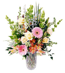 FTD Serene Garden Arrangement from Clifford's where roses are our specialty