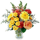 Touching Thoughts Arrangement from Clifford's where roses are our specialty