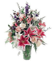 FTD Star Gazer Bouquet from Clifford's where roses are our specialty
