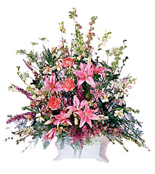 FTD Loving Sympathy Arrangement from Clifford's where roses are our specialty