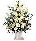 FTD Solemn Offering Arrangement from Clifford's where roses are our specialty