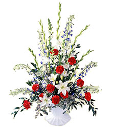FTD Glory Be Arrangement from Clifford's where roses are our specialty