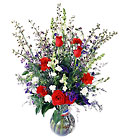 FTD Salute to a Patriot Bouquet from Clifford's where roses are our specialty