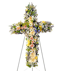 FTD Angel's Cross from Clifford's where roses are our specialty