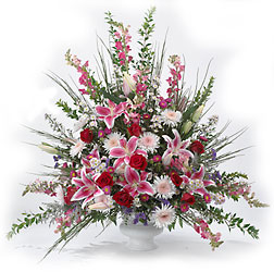 FTD In Our Thoughts Arrangement from Clifford's where roses are our specialty