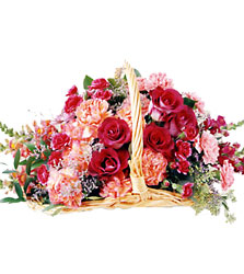 FTD Bereavement Basket from Clifford's where roses are our specialty