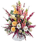 FTD Blooming Elegance Arrangement from Clifford's where roses are our specialty