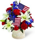 American Glory Bouquet from Clifford's where roses are our specialty