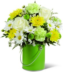 The  Color Your Day With Joy Bouquet  from Clifford's where roses are our specialty
