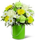The FTD Color Your Day With Joy Bouquet  from Clifford's where roses are our specialty
