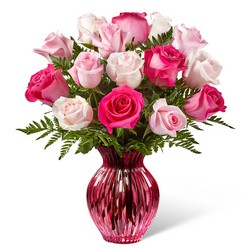 The  Happy Spring Mixed Rose Bouquet from Clifford's where roses are our specialty
