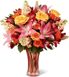 The Touch of Spring Bouquet from Clifford's where roses are our specialty