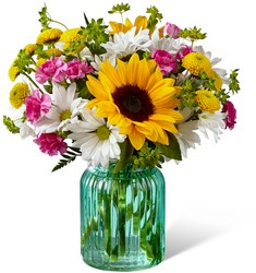 The Sunlit Meadows Bouquet from Clifford's where roses are our specialty