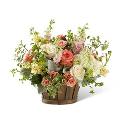 The Bountiful Garden Bouquet from Clifford's where roses are our specialty
