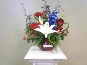 Football Fever from Clifford's where roses are our specialty