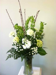 St. Patrick's Day Vase from Clifford's where roses are our specialty