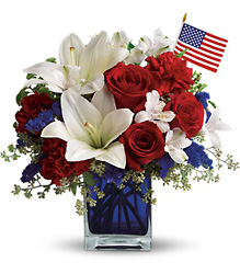 America the Beautiful  from Clifford's where roses are our specialty