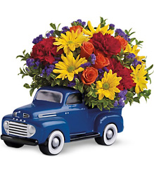 '48 Ford  Pickup Bouquet from Clifford's where roses are our specialty