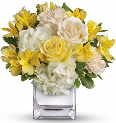 The Sunrise Bouquet from Clifford's where roses are our specialty