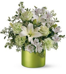 Sea Spray Bouquet from Clifford's where roses are our specialty