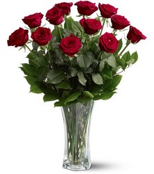 12 Red Roses from Clifford's where roses are our specialty
