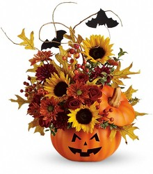 Trick or Treat Bouquet from Clifford's where roses are our specialty
