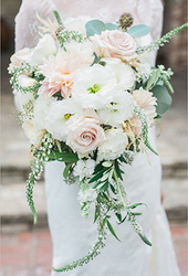 Wedding Bridal Bouquet from Clifford's where roses are our specialty